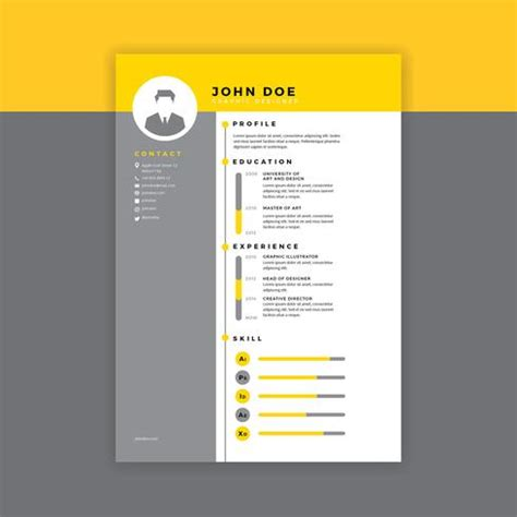 Resume templates for Microsoft Word